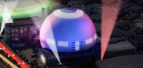 The Globe Arena in Stockholm